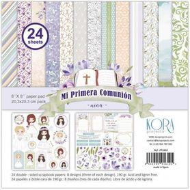 PP1610 Zestaw papierów 20x20cm - Primera Comunion