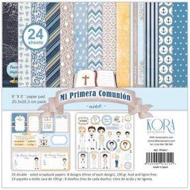 PP1611 Zestaw papierów 20x20cm - Primera Comunion