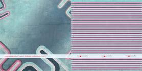 GS Arkusz papieru 30x30 turquoise echo