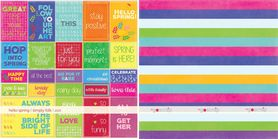 GS Arkusz papieru 30x30 simply folk / hello spring