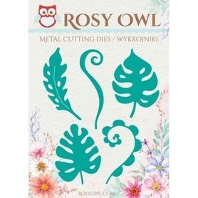 Wykrojnik Rosy Owl Listki tropikalne