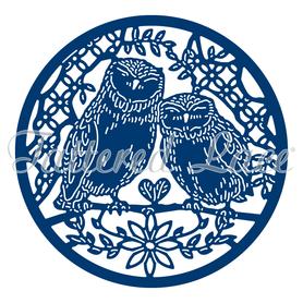 Wykrojnik - Tattered Lace - Sowy (433263)