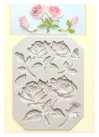 Foremka silikonowa Zestaw róże