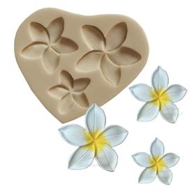 Foremka silikonowa Trzy kwiatki