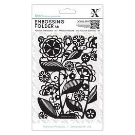 Folder do embossingu Folk Florals (XCU 515191)