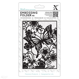 Folder do embossingu Butterfly Meadow (XCU 515188)