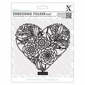 Folder do embossingu Floral Heart (XCU 515210)