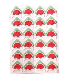 Narożniki na zdjęcia samoprzylepne 24szt arbuzy
