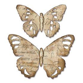 Wykrojnik Sizzix Bigz - Tattered Butterfly - Motyle