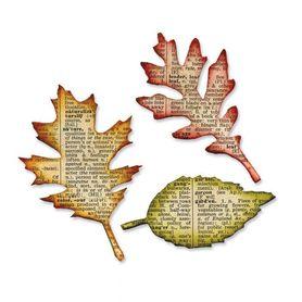Wykrojnik Sizzix Bigz - Tattered Leaves - Liście