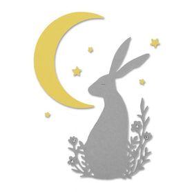 Wykrojnik Sizzix Thinlits Midnight Hare Zając 3el