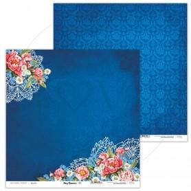 Arkusz papieru LL 30x30cm - Navy Romance - 01