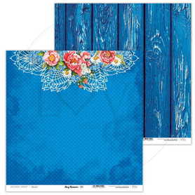 Arkusz papieru LL 30x30cm - Navy Romance - 03