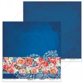 Arkusz papieru LL 30x30cm - Navy Romance - 04
