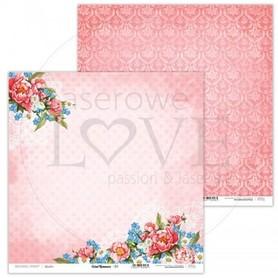 Arkusz papieru LL 30x30cm - Coral Romance - 01