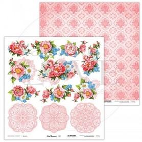 Arkusz papieru LL 30x30cm - Coral Romance - 02