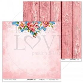 Arkusz papieru LL 30x30cm - Coral Romance - 03
