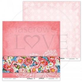 Arkusz papieru LL 30x30cm - Coral Romance - 04