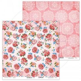 Arkusz papieru LL 30x30cm - Coral Romance - 05