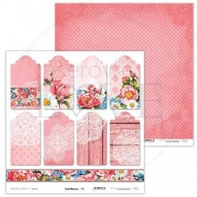 Arkusz papieru LL 30x30cm - Coral Romance - 06