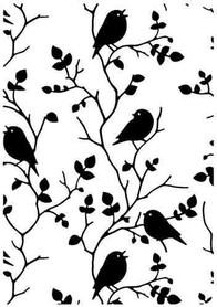 Folder do embossingu HSF027 Ptaki na gałązkach
