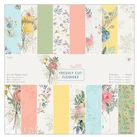Zestaw papierów 30x30 Freshly Cut Flowers 32ark