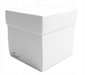 ID-9 Exploding Box biały matowy - 10x10x10cm