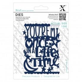 Wykrojnik X-cut - Once In A Lifetime