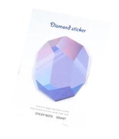 Bloczek samoprzylepny Kryształek 30szt (QY-2010)