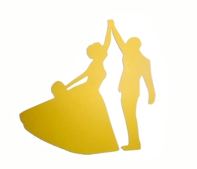 (P43) Para w tańcu Bukiet Ślub Wesele