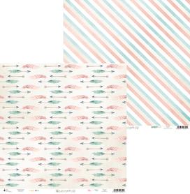 P13-220 Arkusz papieru Cute & Co. 02 - 30x30cm