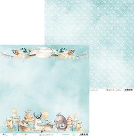 P13-222 Arkusz papieru Cute & Co. 04 - 30x30cm