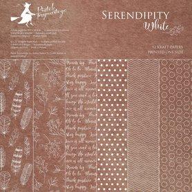 Bloczek papierów P13 Serendipity White 30x30cm