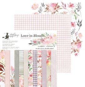 Bloczek papierów P13 Love in Bloom 30x30cm