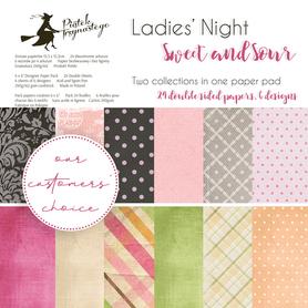 Bloczek papierów P13 Ladies' Night + Sweet and Sour 15x15cm