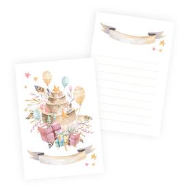 P13 Zestaw 10 kart Cute & Co. Dziewczynka 10x15cm