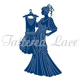 Wykrojnik Tattered Lace Glitz & Glam Lucille (ETL560)