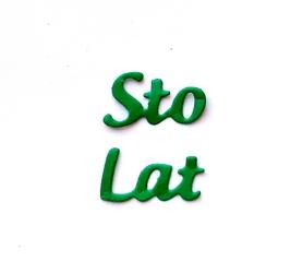 Wykrojnik - Sto Lat (L4-B3120d)