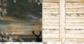 WL281218 Papier dwustronny - Woodlands Dusty