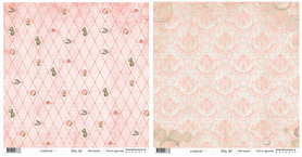 BS281200 Papier dwustronny Baby Star - Pink Square
