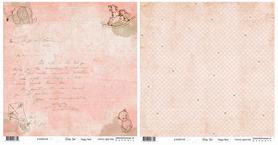 BS281196 Papier dwustronny Baby Star - Huggy Bear