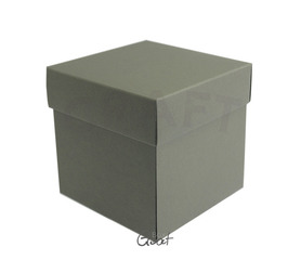 ID-1606 Exploding Box szary antracyt - 10x10x10cm
