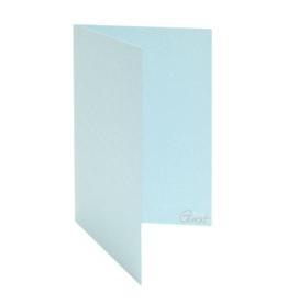 ID-988 Karta baza rozkładana A6 błękitna