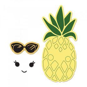 662933 Wykrojnik Sizzix + stemple -Sunny Pineapple
