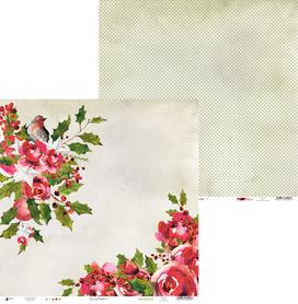 P13-314 Arkusz Rosy Cosy Christmas 01 - 30x30cm