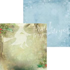 P13-145 Arkusz Świąteczne życzenia 03 - 30x30cm