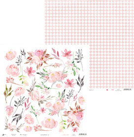 P13-251 Arkusz Love in Bloom 07 - 30x30cm