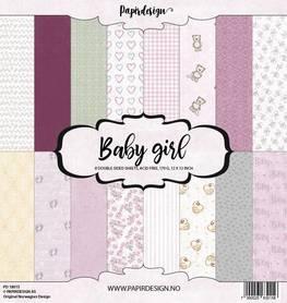 PD18015 Zestaw papierów Baby Girl - 30x30cm