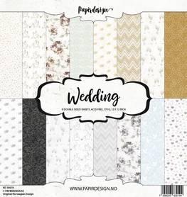 PD18019 Zestaw papierów Wedding - 30x30cm