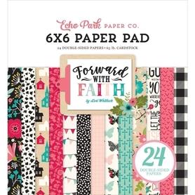 Zestaw papierów Forward With Faith 15x15cm